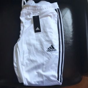 NWT Adidas White Joggers